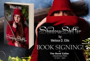 SHADOWSHIFTER Book Signing