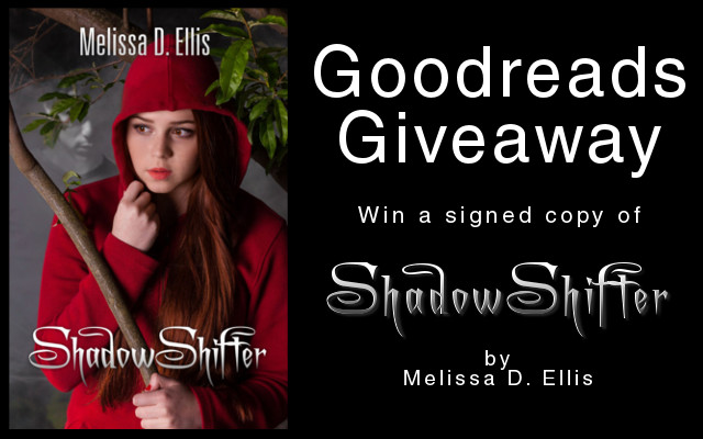 SHADOWSHIFTER Goodreads Giveaway